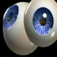 Blue eye