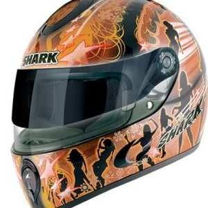 "shark S 800 ""fever"" helm maat S"