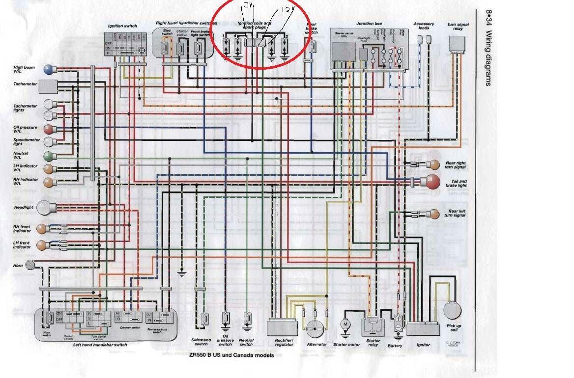 Kawasaki Vulcan Ignition Wiring Diagram On Kawasaki Vn 1600 Wiring
